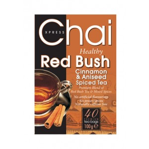 Red Bush Cinnamon and Aniseed Healthy Tea Packet